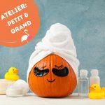 """Atelier """"PeTiT et GrAnD"""": création en duo d'un savon Halloween"""